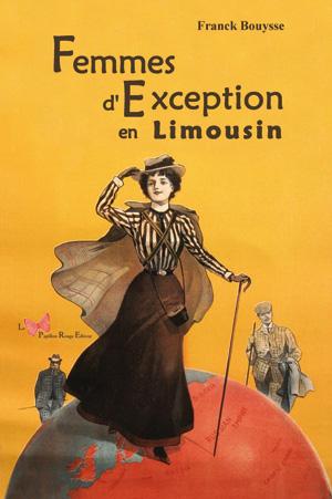 couverture de livre avec femme aventurière autour du limousin
