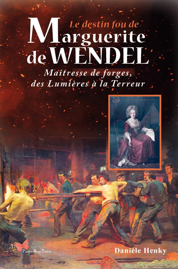 couverture de livre biographie de Marguerite Wendel